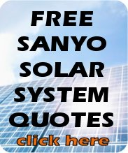 Interested in Sanyo solar panels? Fill in this form